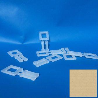 Pántcsat műanyag 13 mm-ig, 1000db/doboz