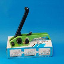 Kézi pántoló PES/PP pántszalaghoz 9-19mm, zöld