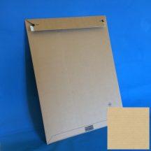 Hullámkarton boríték, 414x570x-50mm (belméret), A2, 50 db/gyűjtő