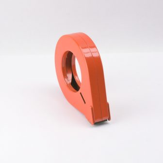 Rag.szalag 25mm-ig  letekerő piros fémgyűrű