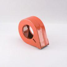 Ragasztószalag letekerő gyűrű 50mm-ig fém, piros