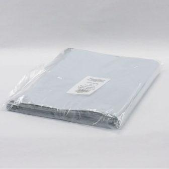 Futártasak PE 305x450+50mm szürke/fekete