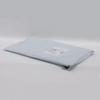 Futártasak PE 450x525+50mm szürke/fekete