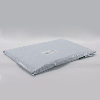 Futártasak 450x600+50mm fehér/fekete