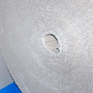 Hullámpapír kétrétegű, tekercsben 100-105cm