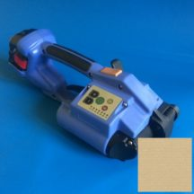 Akkumulátoros kézi pántológép PP és PET szalagokhoz