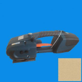 Elektromos kézi pántológép PP és PET szalagokhoz fokozatmentes 2800N!