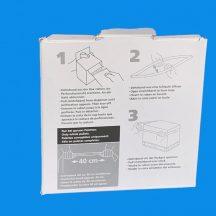 Stretchfólia rakományrögzítő öv 100x1200mm, 100db öv/tek., 28 tek./karton