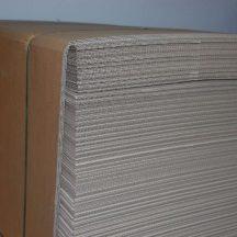 Hullámlemez 750x1150 mm (raklap köztes)