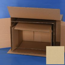 Papír doboz 210x210x160 mm 22B TF 3 rétegű (kartondoboz)