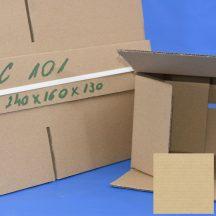 Kartondoboz C101 240(h)x160(sz)x130(m) mm NBK (papírdoboz)