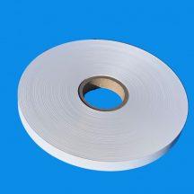 Kötegelő/övező szalag papír 25mm/500m, fehér 76mm cséve, max átmérő 305mm