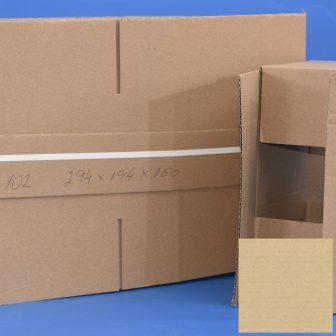 Papír doboz C102 294x194x160mm 1.04B, 3réteg