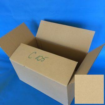 Papír doboz C105 394x250x210mm 1.04B, 3réteg