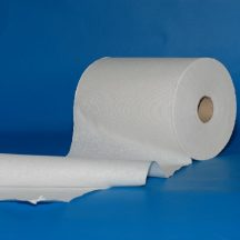 Kéztörlő tekercses Scott Slimroll, fehér, egyrétegű, 165m/tek.