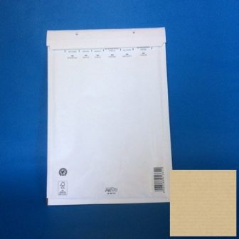 Légpárnás tasak boríték 120x215mm (belméret) B12 fehér