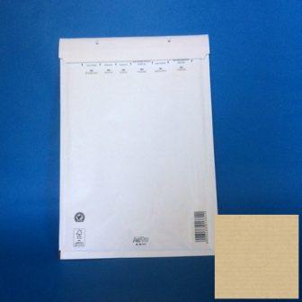 Légpárnás tasak boríték 120x215mm (belméret), B12 fehér