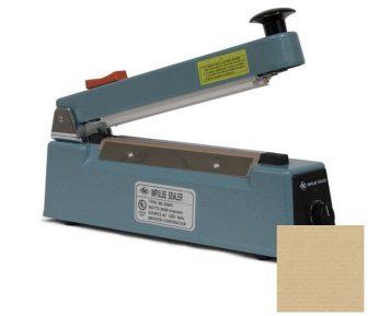 Mercier ME300HC fóliahegesztő 2,5x300mm