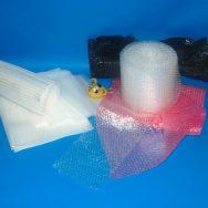foamy and bubble wrap