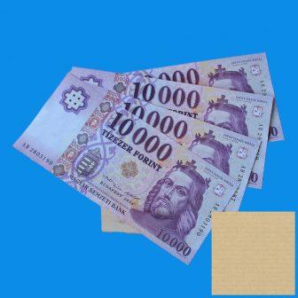 1 Ft-os termék - Számlaérték kifizetése bankkártyával