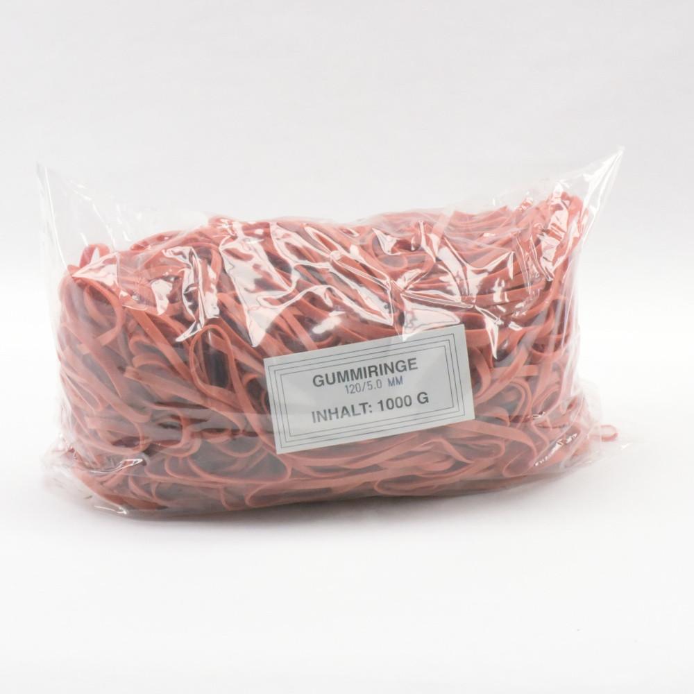 Gumigyűrű 120/5 mm piros