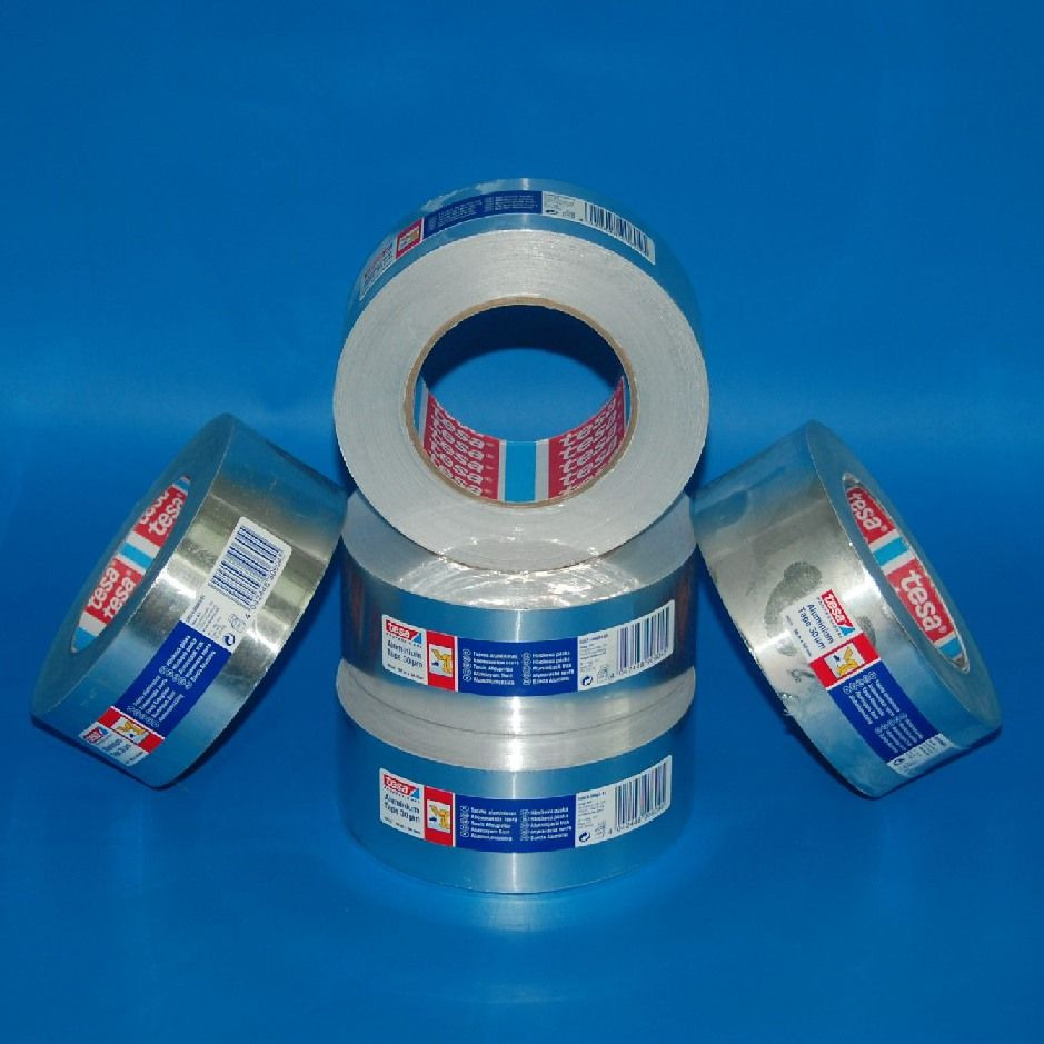 Rag.szalag 50mm/50m TESA 50524 30my aluminium